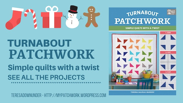 Turnabout Patchwork is out! Shipping on 17 December