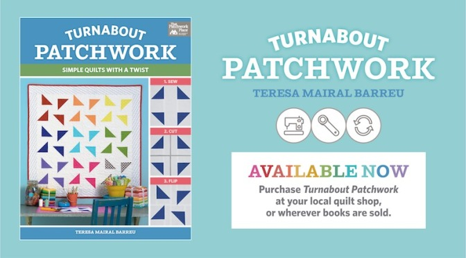 My book Turnabout patchwork