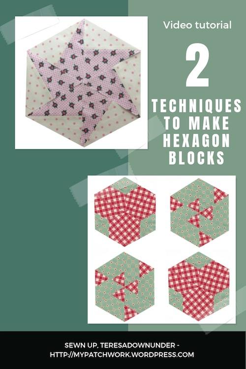 2 hexagon blocks