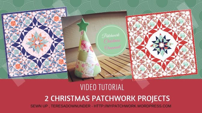 2 Christmas patchwork projects