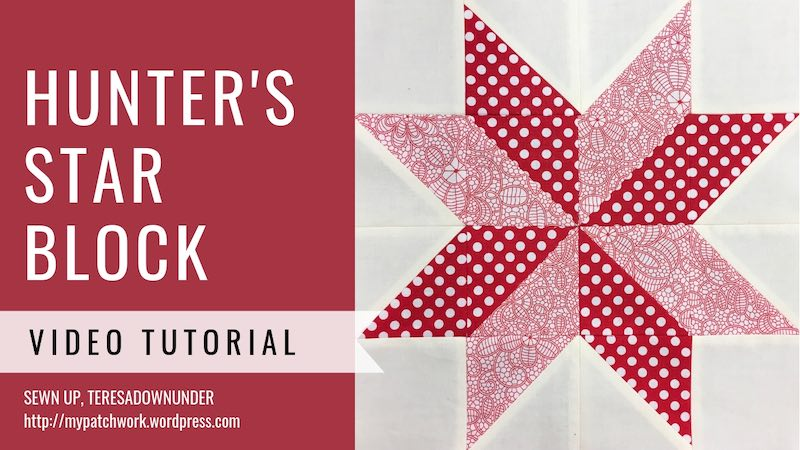 Hunter S Star Inspired Quilt Block Video Tutorial Sewn Up
