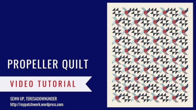 Propeller quilt – Essentials quilt pattern
