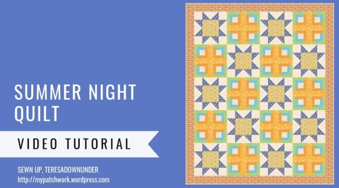 Summer night quilt pattern