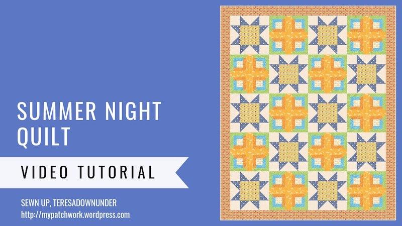 Summer night quilt pattern