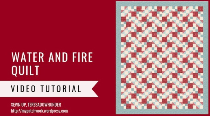 Water and fire quilt pattern