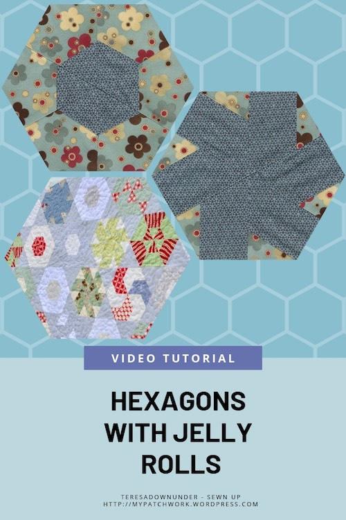 hexagons with jelly rolls