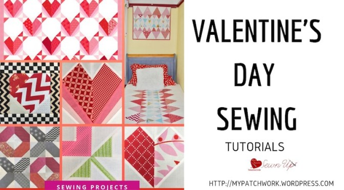 Valentine's Day sewing tutorials