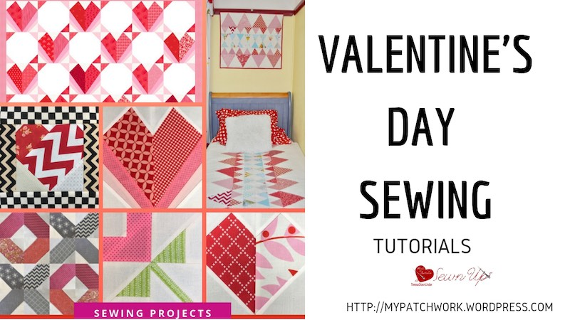 Valentine's Day sewing tutorials