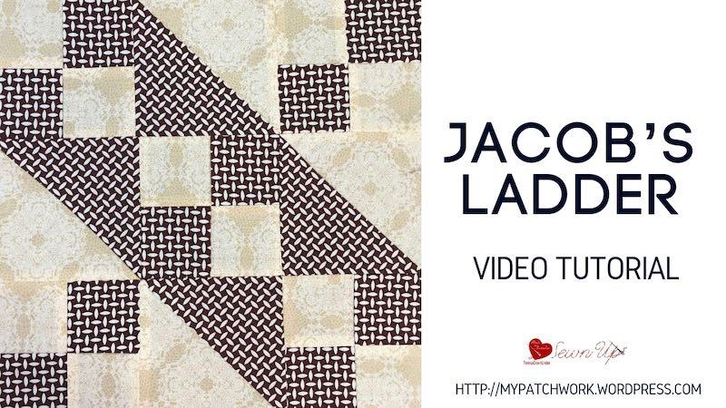 Jacob's ladder quilt block video tutorial