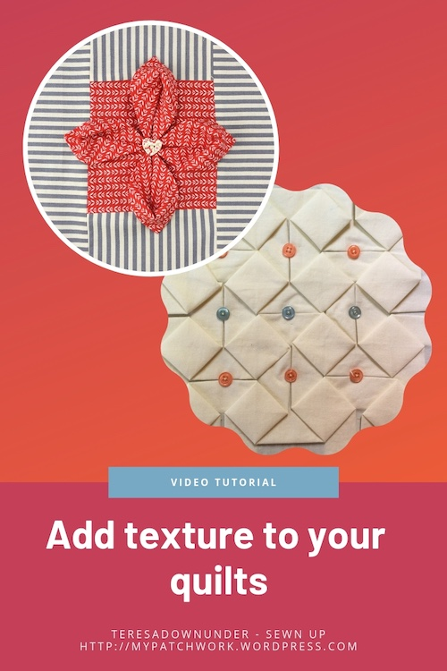 Add texture to your quilts video tutorial