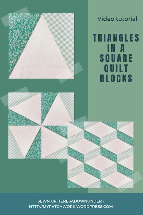 Triangles in a square video tutorial