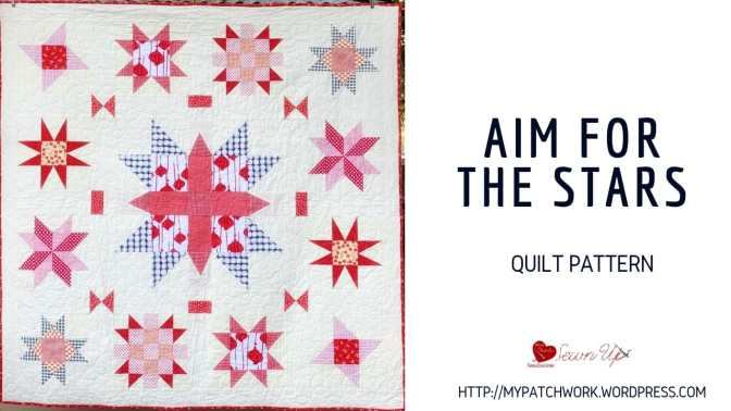 Aim for the stars quilt pattern
