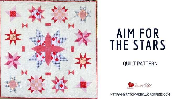 Quilt pattern: Aim for the stars – confident beginner level