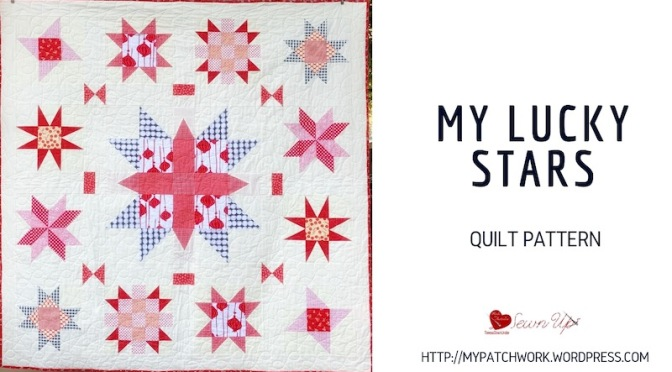 Quilt pattern: My lucky  stars – confident beginner level