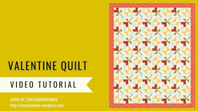 Valentine quilt pattern – Essentials quilt pattern
