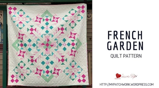 Pattern: French garden quilt – confident beginner level
