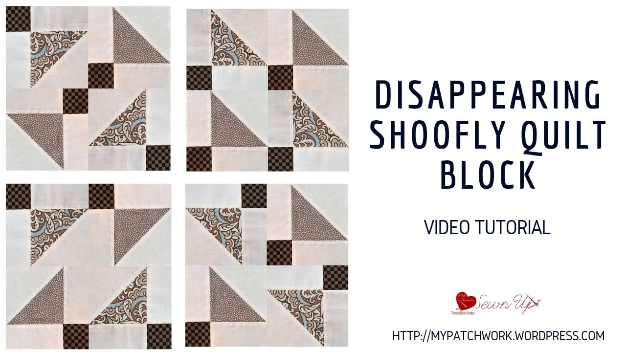 Disappearing shoofly video tutorial