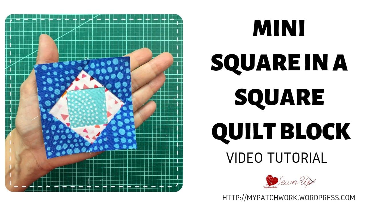 Mini Square in a Square quilt block