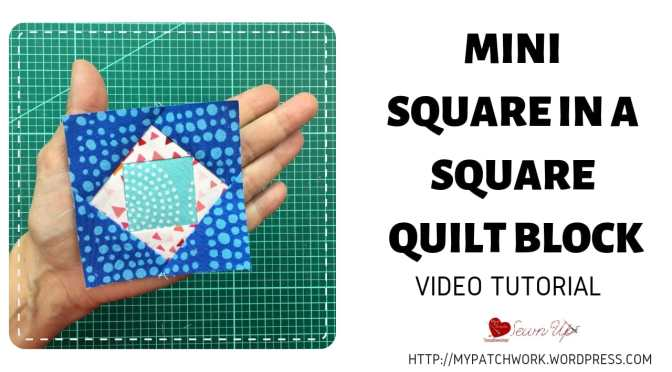 Mini Square in a Square quilt block