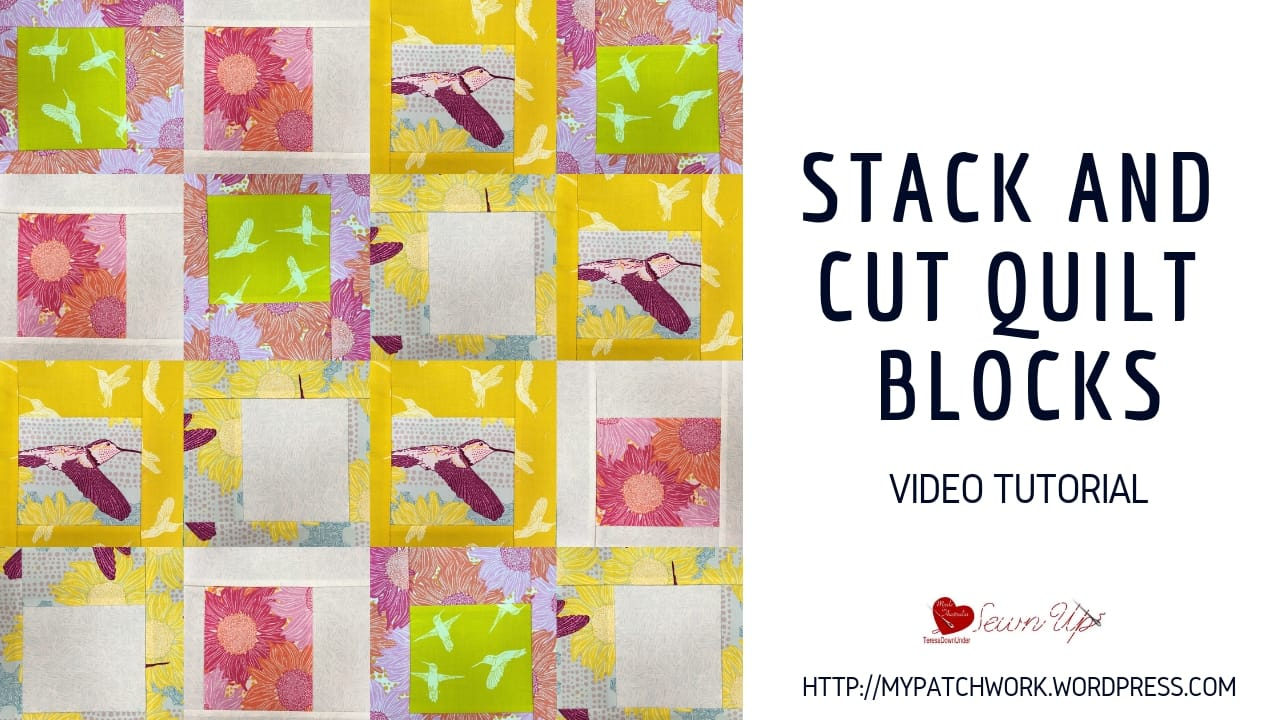 Stack and cut quilt blocks