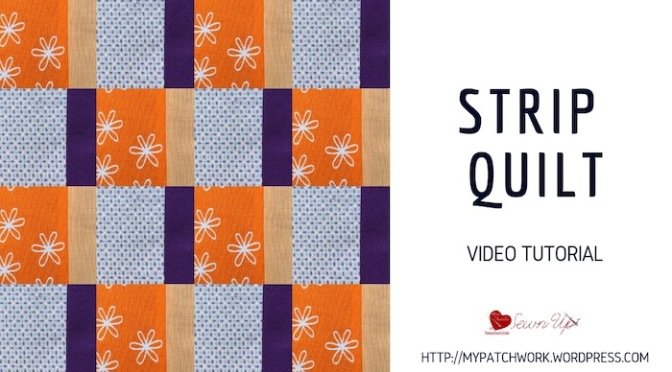 Strip quilt – video tutorial
