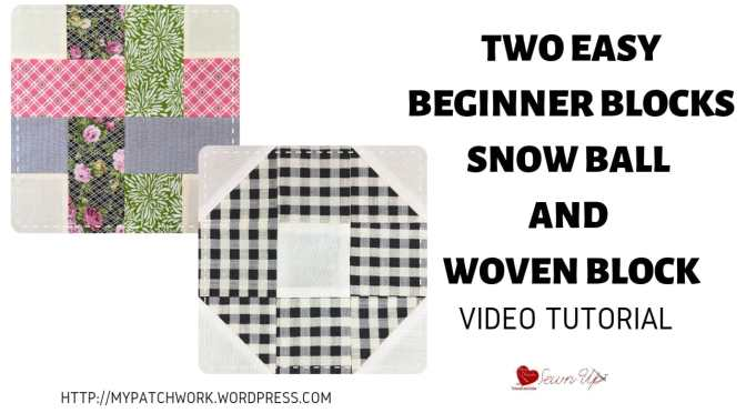 Two easy beginner quilt blocks