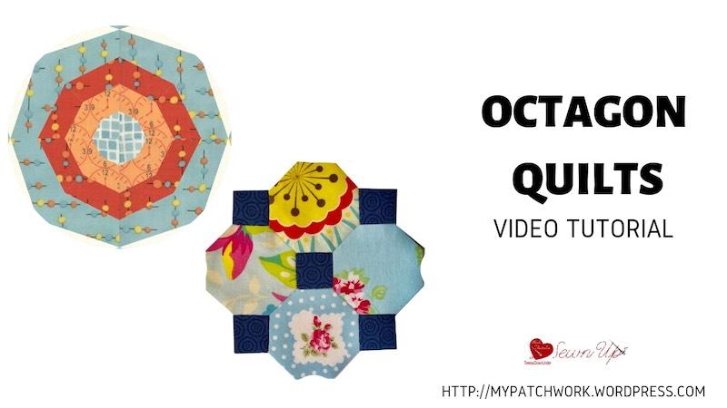 Octagon quilts video tutorial