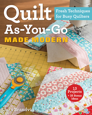 Quilt as you go made modern