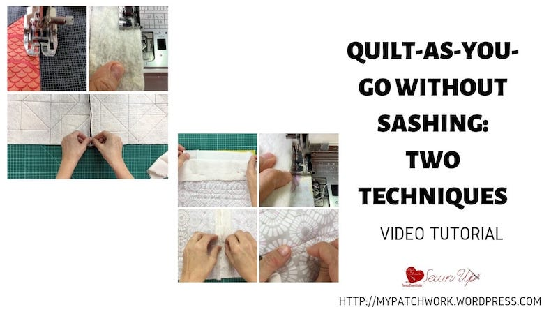 Two techniques for QAYG without sashing