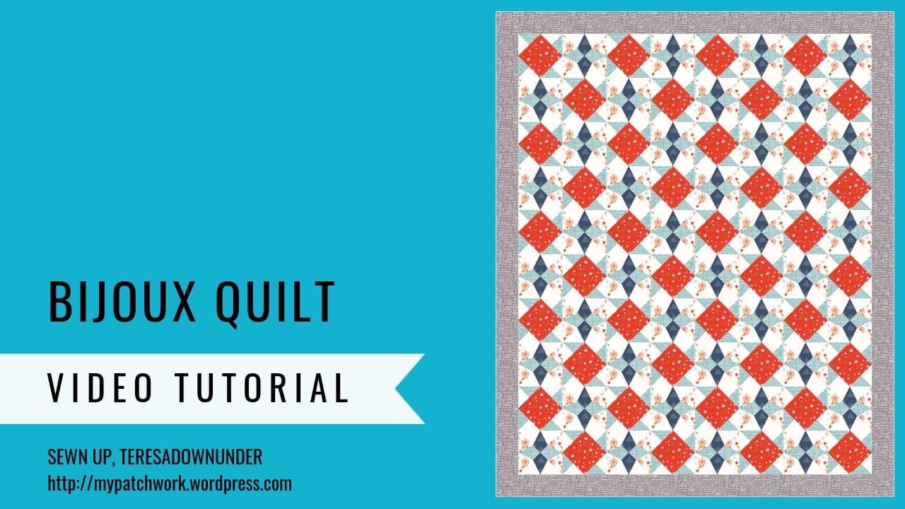 Bijoux quilt pattern