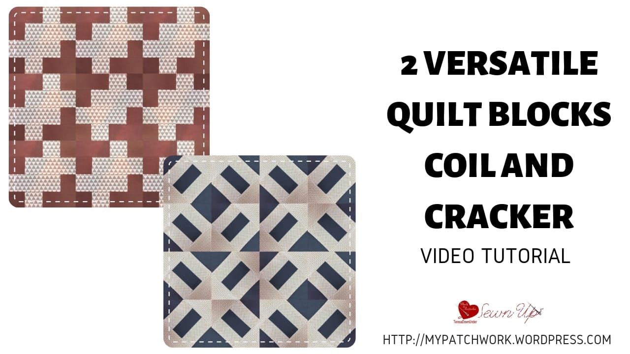 2 Versatile quilt blocks: coil and cracker
