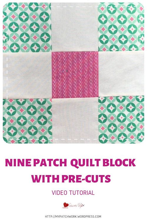 9 patch with precuts