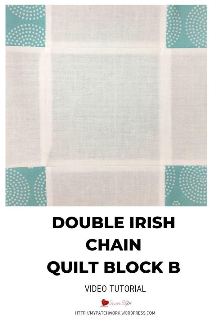 Double Irish Chain quilt block B