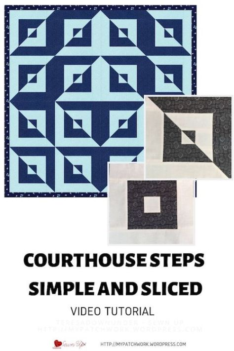 Simple and sliced courthouse steps video tutorial