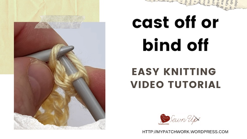 Cast off or bind off