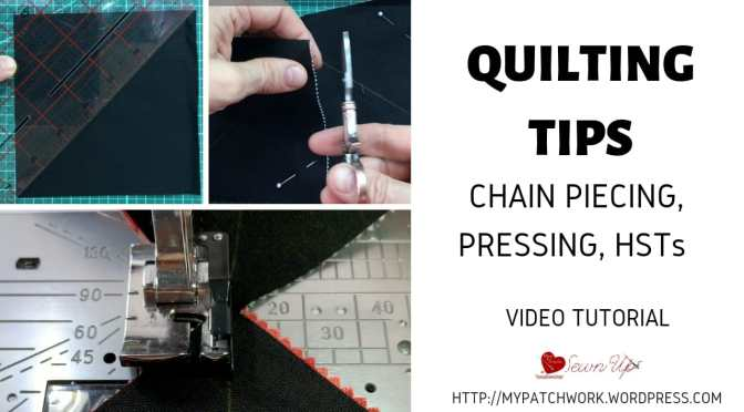 Quilting tips – turnabout patchwork QAL