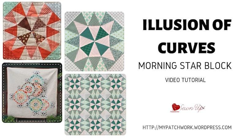Illusion of curves