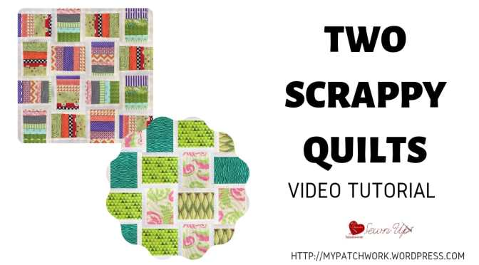 Two scrappy quilts