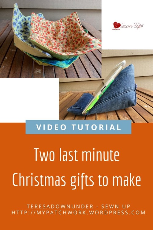 2 last minute Christmas gifts to make - video tutorial