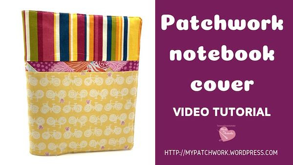 Notebook cover – video tutorial
