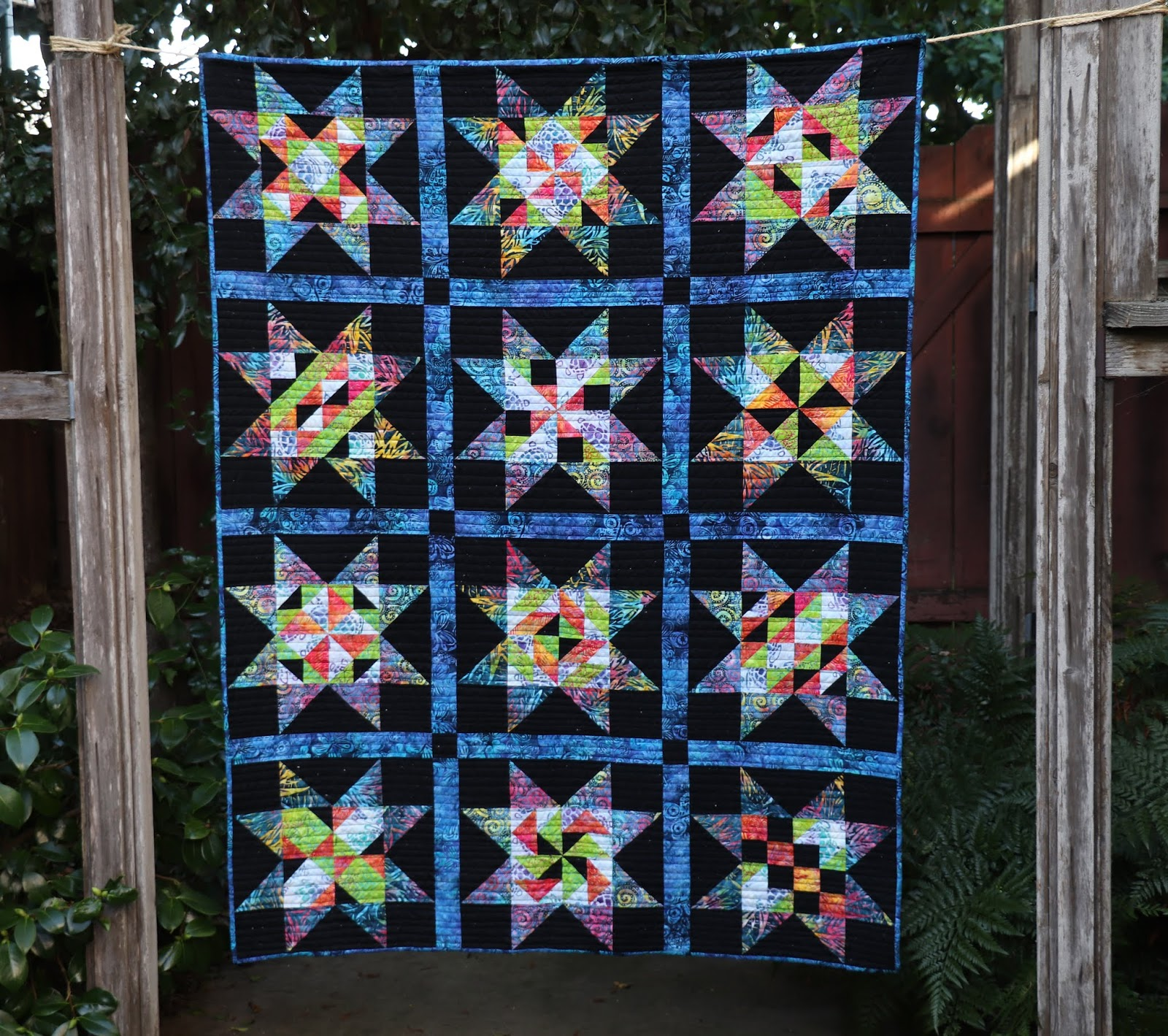 Peek into Batiks Quilt Along