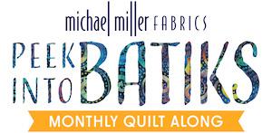 Peek into batiks BOM - free quilt pattern