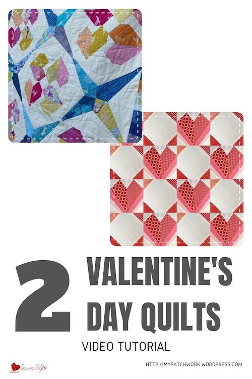 2 Valentine's Day quilts