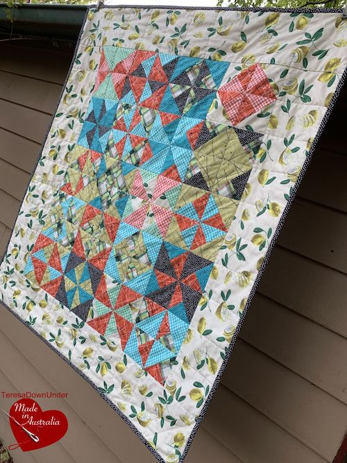 In a breeze quilt, TeresaDownUnder