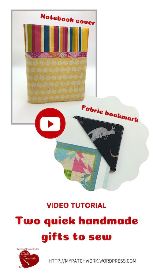 Two handmade gifts to sew - video tutorial