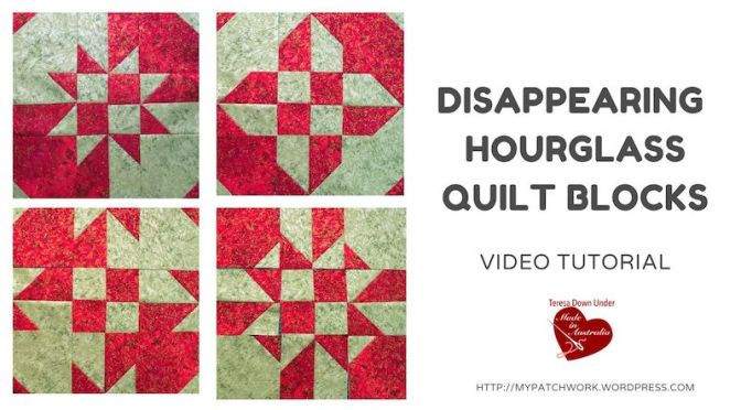 Disappearing hourglass with pre-cuts – video tutorial