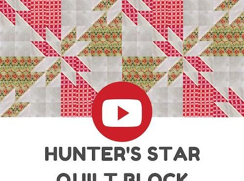 Hunter's star: a block from Turnabout patchwork: simple quilts with a twist