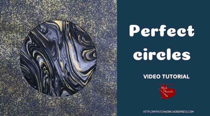 Perfect circles – quilting video tutorial