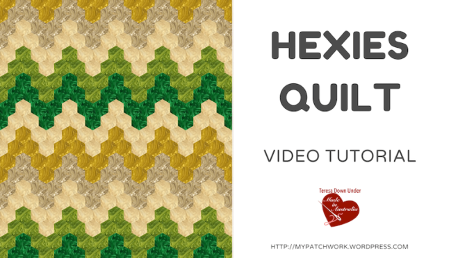 Hexies quilt – English paper piecing (EPP)