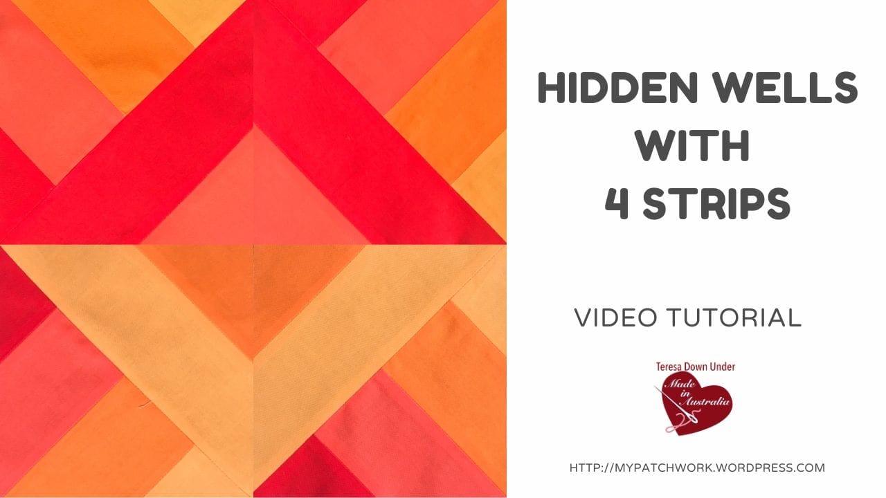 Hidden wells with 4 strips